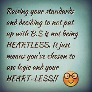 raising your standards